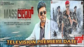Mass Leader Full Movie in Hindi Television Premiere On Star Gold | Shiva Rajkumar | The Topic
