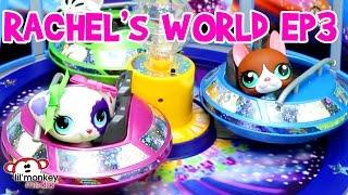 LPS - Rachel's World Ep 3 - Amusement Park Fun with Grandma!