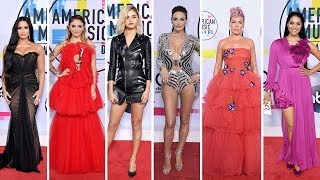 American Music Awards 2017 Celebrities with Red Carpet