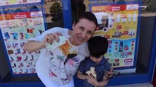 30 tl Challenge! Okula Dönüş Alışverişi 2017 Bim VS D&R!! - Kırtasiye Alışverişi - Bidünya Oyuncak
