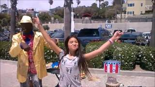 11 YEAR OLD ACTRESS JULIA GRUENBERG JOINS THE GREAT LENNY! SANTA MONICA BEACH!