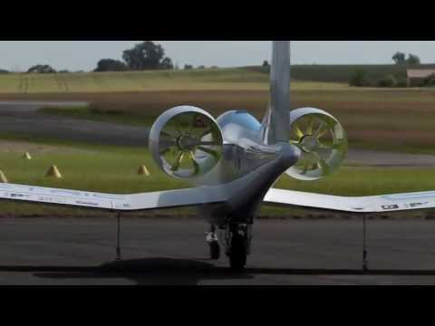EADS E Fan electric aircraft demonstrator