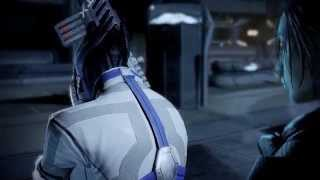 Mass Effect 2 Scene Female Shepard Liara HD