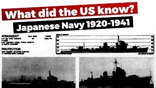 [Navy Chat] Japanese Navy - US Intelligence Assessments 1920-1941