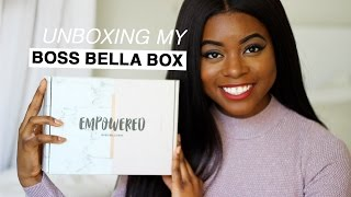 Unboxing MY Monthly Subscription Box | Tia Taylor Boss Bella Box