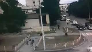 Így lőtték le az oroszországi késelős támadót