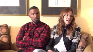 Jamie Foxx on supporting the