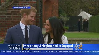 LA Native, Actress Meghan Markle Engaged To Britain's Prince Harry
