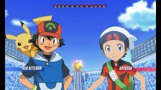Pokemon Battle USUM: Hoenn Ash Vs Brendan (Pokémon Hoenn League)