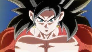 Super Saiyan 4 Vegito + Dragon Ball Super Broly IN Dragon Ball Heroes
