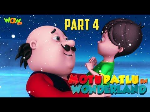 Motu Patlu In Wonderland Part 04 | Movie| Movie Mania | Wow Kidz |As seen on Nick