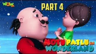 Motu Patlu In Wonderland Part 04| Movie| Movie Mania - 1 Movie Everyday | Wowkidz