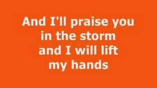 Casting Crowns - Praise you in the storm