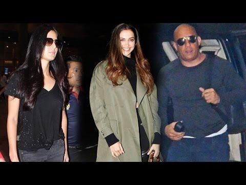 Xxx Mp4 Deepika Padukone Vin Diesel Leaves India Katrina Kaif Returns To Mumbai 3gp Sex