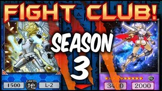 Yugioh Fight Club SEASON 3 is HERE!(Competitive Yugioh Series)