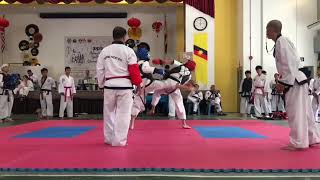 Tang Soo Do National- Kee Kang Yik vs Miri