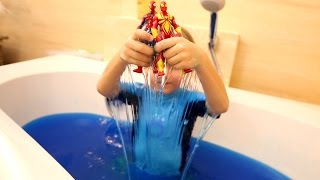 More Fun In Blue Slime Baff