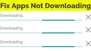 Fix Apps Won't Download From The Google Play Store in Android Tablet