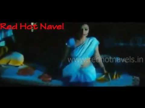 hot girl navel show in davani
