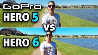 GoPro HERO 6 vs HERO 5!! (4K)