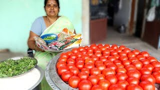 TOMATO Biryani  Donating For 100 Peoples | VILLAGE FOOD RECIPES