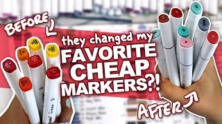 ARE THEY STILL WORTH IT?! | Ohuhu Marker 2018 Review | Best Cheap Markers for a Beginner?
