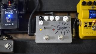 GRAIN Crazy Guitar Tremolo Pedal : Clean Sound Demo