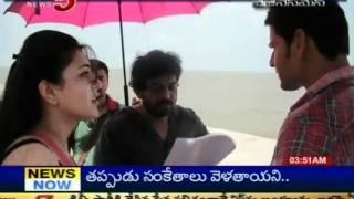 Mahesh's Business Man Movie Making Visuals (TV5) - Part 02