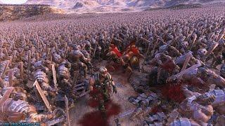Chuck Norris vs 30000 Zombies Ultimate Epic Battle Simulator