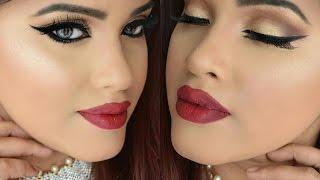 Bengali New Year Makeup Look|পহেলা বৈশাখের সাজ| GRWM Bengali New Year