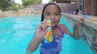 Mermaid Magic Disney Princess Sofia & Underwater Friends Balloon Popping   Toys Academy