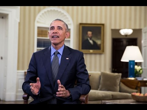 watch Weekly Address: The Honor of Serving You as President