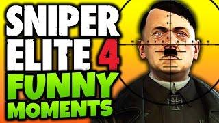 Sniper Elite 4: Funny Moments! -