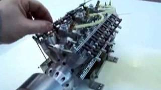 Worlds smallest V12 engine