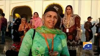 Kartarpur Rahdari Par Sikh Yatrion Ka Josh-o-Walwala
