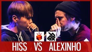 HISS vs ALEXINHO  |  Grand Beatbox SHOWCASE Battle 2017  |  SEMI FINAL