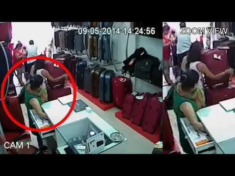 Four Women Attempting Theft In A Bag Shop || Mission Successful