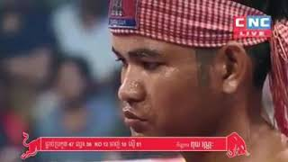 Puy Vannak vs Iran CNC Khmer boxing 01/12/2018