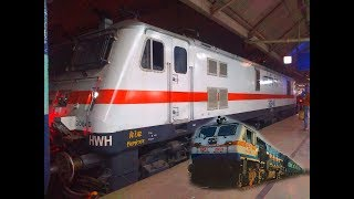TRAIN SPOTTING at BELUR | HWH EMD , ALCO , WAP4 , WAP7 And Many More Actions | INDIAN RAILWAYS
