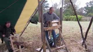 Making a Pole Lathe Treadle Assembly