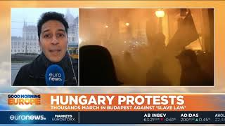 Hungary Protests: Thousands march in Budapest against