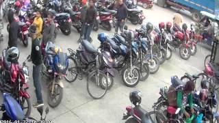 Gorkha Department Store Itahari Bike Thief CCTV Footage