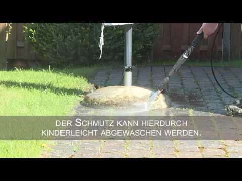 Terrasse leichter reinigen durch Hydrophobierung mit Evonik Protectosil BHN