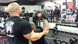 NY PRO's Training during the 2013 Arnold a Classic
