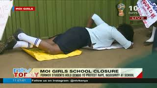 Parents, alumni hold demos to protest rape, insecurity at Moi Girls School