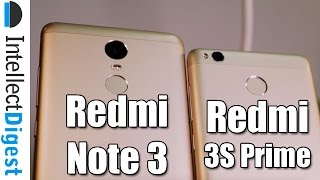 Xiaomi Redmi 3S Prime VS Redmi Note 3 Comparison- What Is Different?