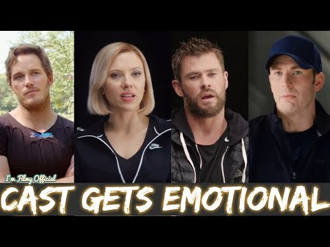 Avengers: Infinity War Cast Gets Emotional Thinking About 10 Years of Marvel Relationship - 2018