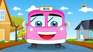Rodas no ônibus | compilação para crianças | rima infantil Popular