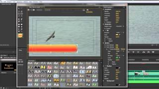 Premiere Pro CS6 Techniques: 37 Titles 5: Text on Paths