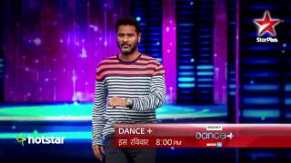 Dance+ : The dancing legend, Prabhudeva and Captain Dharmesh locking and popping